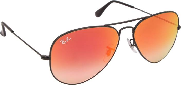 4b16b9ef709094 Buy Ray-Ban Aviator Sunglasses Pink For Men Online   Best Prices in ...