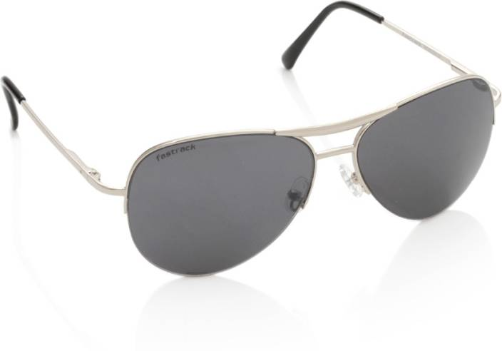 d0f24225e3 Buy Fastrack Aviator Sunglasses Black For Men   Women Online   Best ...