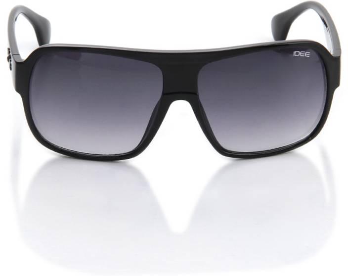 1be714b5976 Buy IDEE Retro Square Sunglasses Grey For Men   Women Online   Best ...