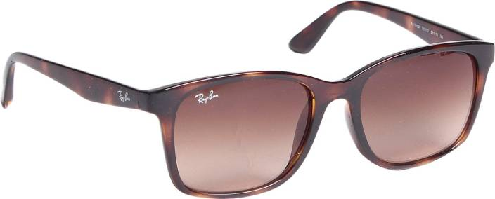 7bf1bf8532 Buy Ray-Ban Wayfarer Sunglasses Brown For Men Online   Best Prices ...