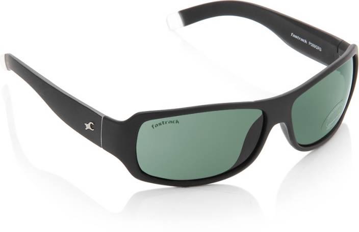 f6c8b27b1d Buy Fastrack Rectangular Sunglasses Green For Men Online   Best Prices in  India
