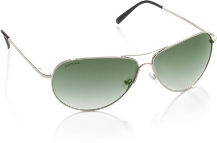 8078e492ae Buy Fastrack Aviator Sunglasses Green For Men   Women Online   Best ...