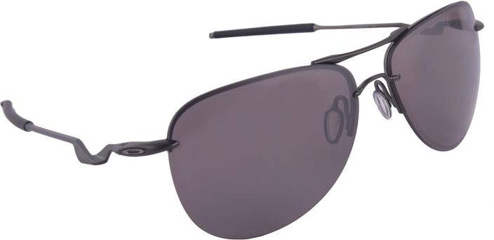 ca65c77577fa2 Buy Oakley TAILPIN Aviator Sunglass Grey For Men Online   Best ...