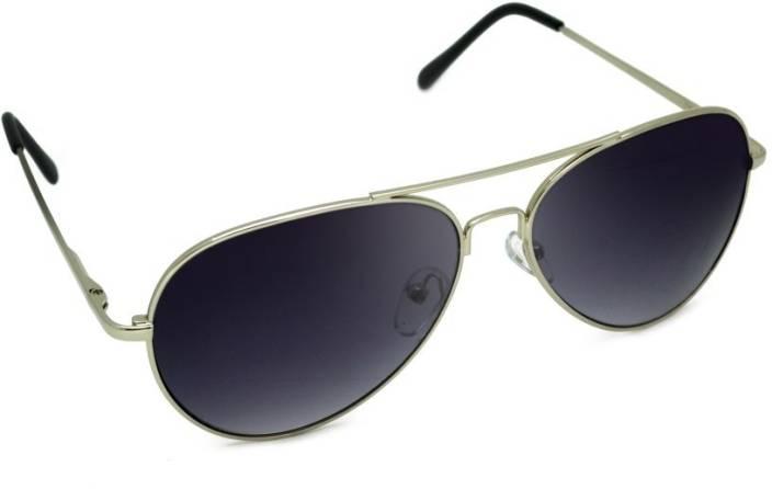 76386ab918 Buy Macv Eyewear Aviator Sunglasses Black For Men   Women Online ...
