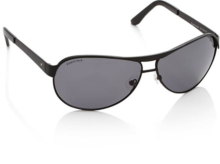 c745a6c5cb97 Buy Fastrack Aviator Sunglasses Grey For Men Online @ Best Prices in ...
