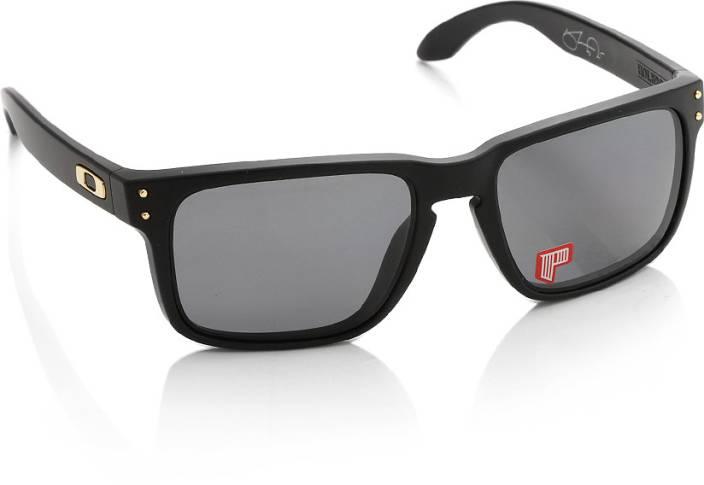 white oakley sunglasses for men wqkk  Oakley 0OO910291021755 Wayfarer Sunglasses