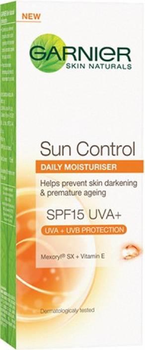 5c8df51a347 Garnier Sun Control Daily Moisturiser - SPF 15 - Price in India