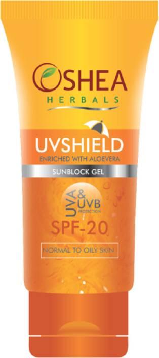 Oshea Herbals UVSHIELD - Sunscreen Gel - SPF 20 PA+