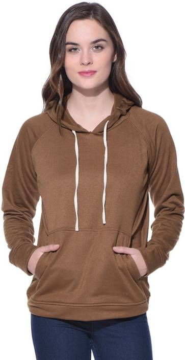 Purys Full Sleeve Solid Women's Sweatshirt