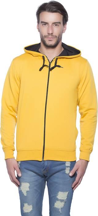 Alan Jones Full Sleeve Solid Men's Sweatshirt