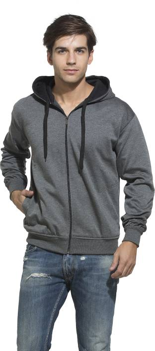 Alan Jones Full Sleeve Solid Men's Sweatshirt