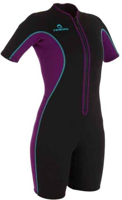 89e5953506fd8 Tribord by Decathlon Wetsuit Printed Women s Swimsuit - Buy Black ...