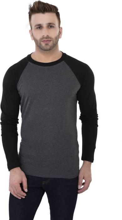 Katso Solid Men's Round Neck Black T-Shirt - Buy Black Katso Solid ...