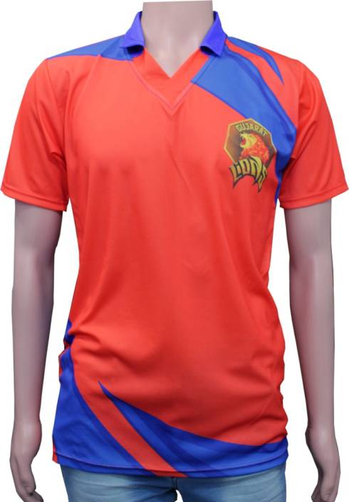 vency creation Printed Men's V-neck Multicolor T-Shirt
