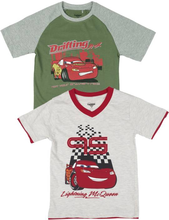 e97c5997 Disney Cars Boys Printed T Shirt Price in India - Buy Disney Cars ...