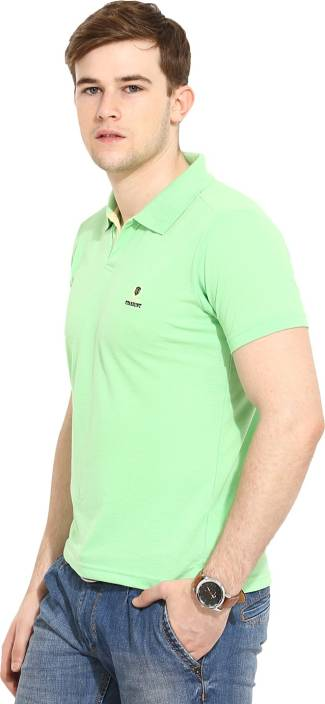 a68e8f6c Duke Stardust Solid Men Polo Neck Light Green T-Shirt - Buy L.Green Duke  Stardust Solid Men Polo Neck Light Green T-Shirt Online at Best Prices in  India ...