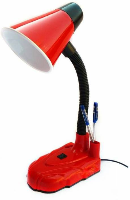 Allora stylish red 333 study lamp price in india buy for Stylish lamps online