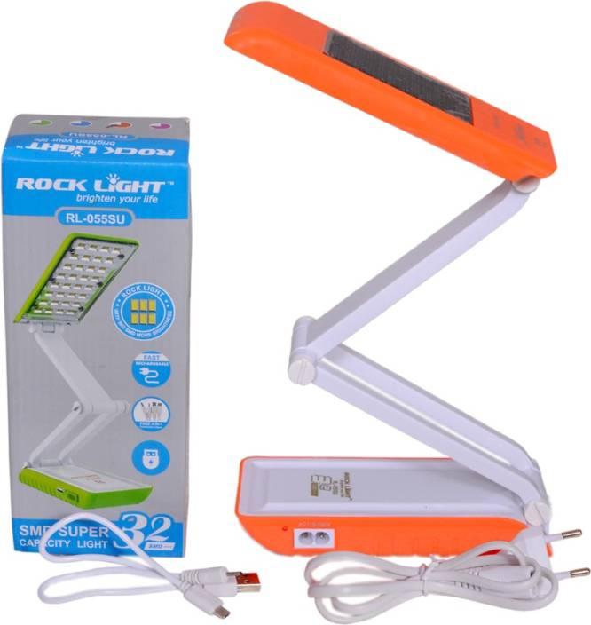 Rocklight 32 Smd Super Solar Study Lamp 21 Cm Multicolor
