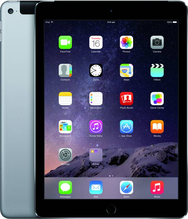 apple ipad air 2 16 gb 9 7 inch with wi fi 4g price in. Black Bedroom Furniture Sets. Home Design Ideas
