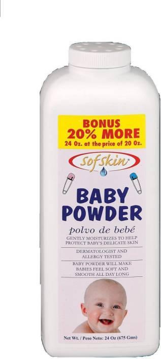Sofskin Baby Powder