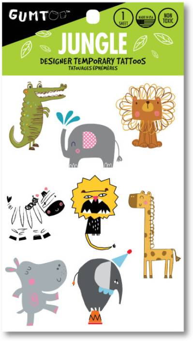 Gumtoo Jungle - Designer Temporary Tattoos - Price in India, Buy ...