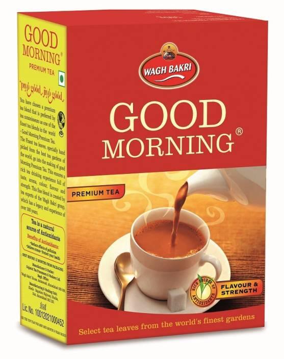 Waghbakri Good Morning 500 g Carton Unflavoured Black Tea (500 g, Box)