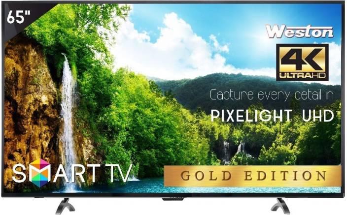 Weston 165cm (65 inch) Ultra HD (4K) LED Smart TV