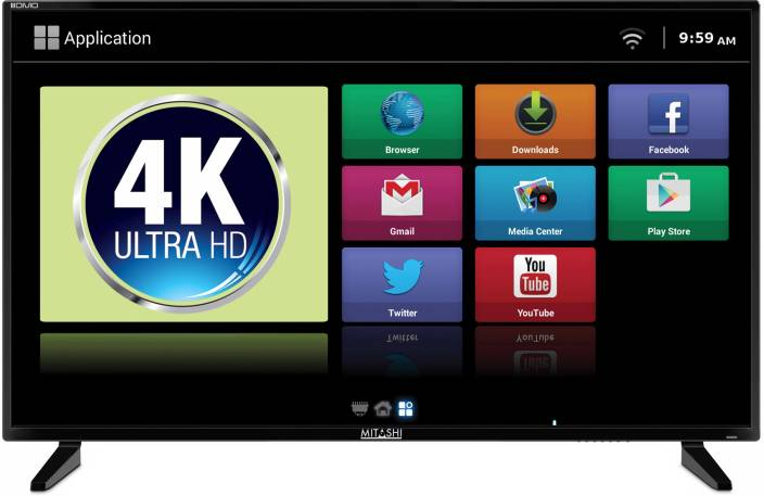 Mitashi 101.6 cm (40 inch) Ultra HD (4K) LED Smart TV