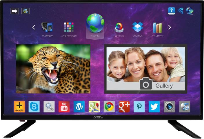 6c5fe7e47 Onida 80cm (32 inch) HD Ready LED Smart TV Online at best Prices In India