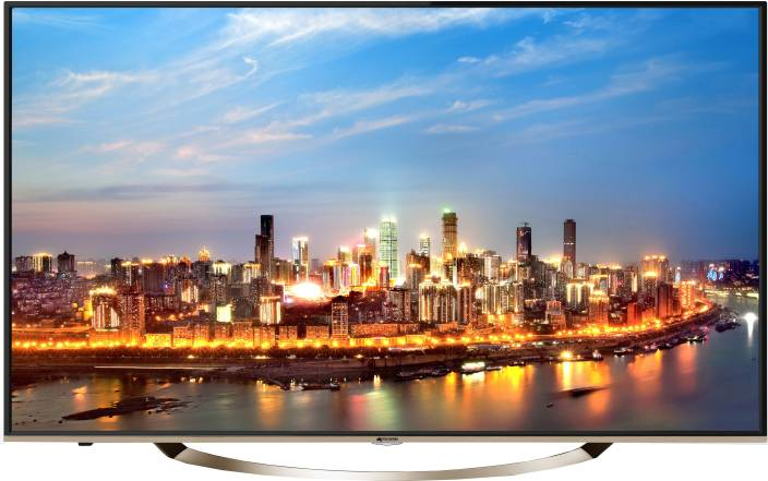 Micromax 109cm (43 inch) Ultra HD (4K) LED Smart TV