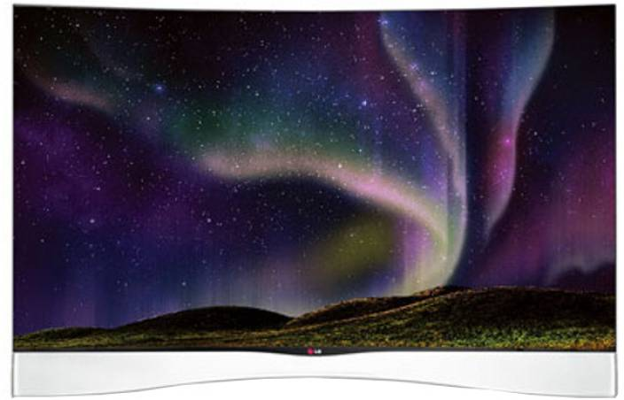LG 138cm (55 inch) Full HD Curved LED Smart TV
