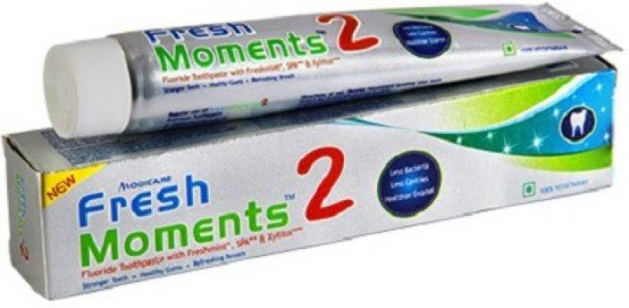 Modicare Fresh Moments 2 Tooth Paste 100gx2  (200 g)