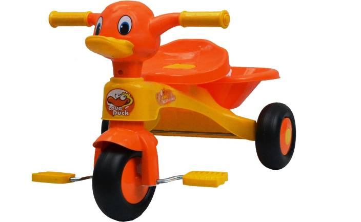 21e4f8e86a8 Taaza Garam Kids Bike Trike Bicycle Duck Toddler Children's 3 Wheel Ride On  Tricycle (Multicolor)