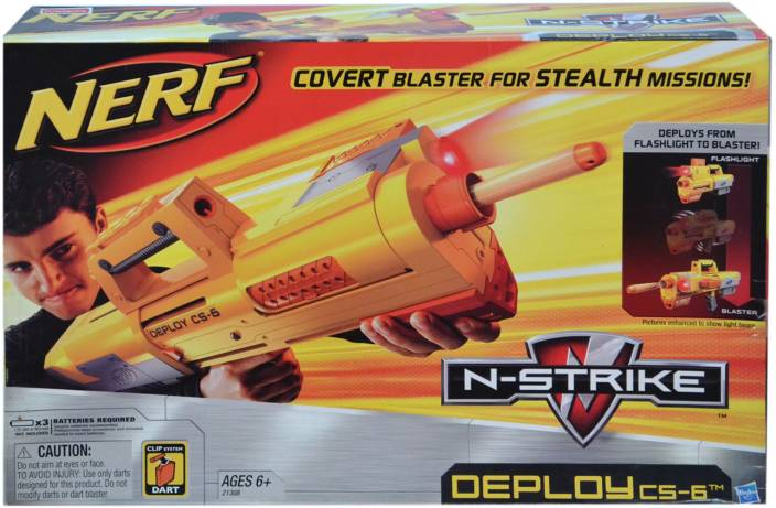 Nerf N-Strike Deploy CS-6 Gun