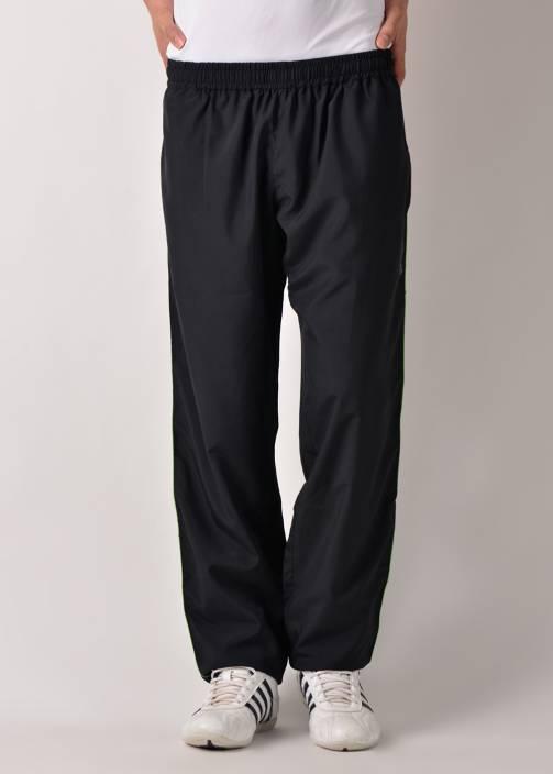 Lotto Solid Men's Black Track Pants