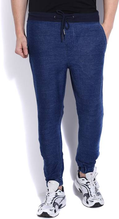 d8321a0e7bf29 Being Human Men's Track Pants - Buy INDIGO Being Human Men's Track ...