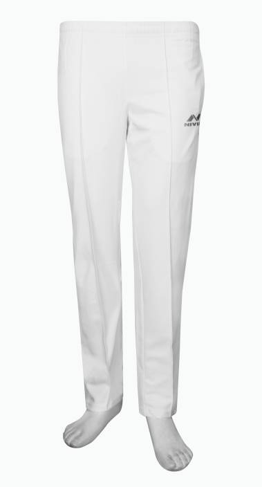 ffd992980439 Nivia Solid Men s White Track Pants - Buy White Nivia Solid Men s White  Track Pants Online at Best Prices in India