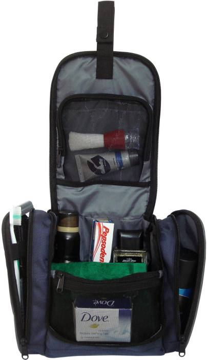 09b02a6b9f4f Swiss Military Tb-3 Travel Toiletry Kit Navy Blue - Price in India ...