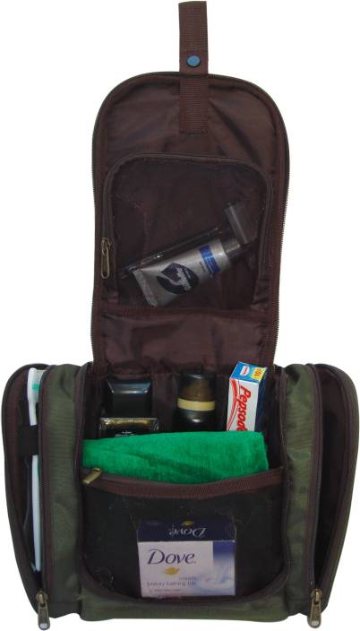 Swiss Military TB-2 Travel Toiletry Kit Green-09 - Price in India ... f89454178e059
