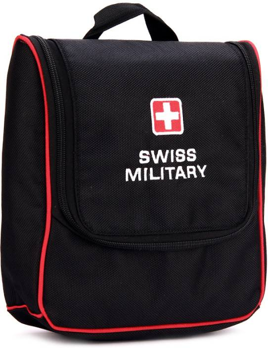 0cab75e384dc Swiss Military Travel Toiletry Kit Black - Price in India