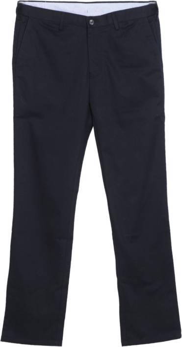 Arrow Sports Regular Fit Men's Dark Blue Trousers