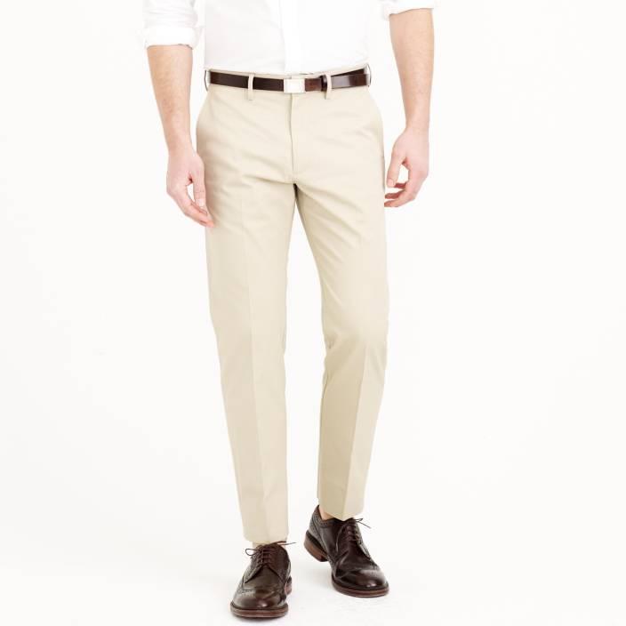 Netplay Regular Fit Men's Beige Trousers