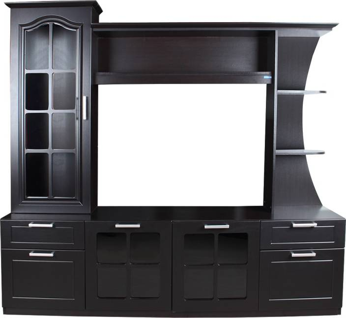 Spacewood Mandarin Engineered Wood TV Entertainment Unit Price in ...