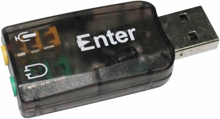 Enter USB Audio Controller Sound Card