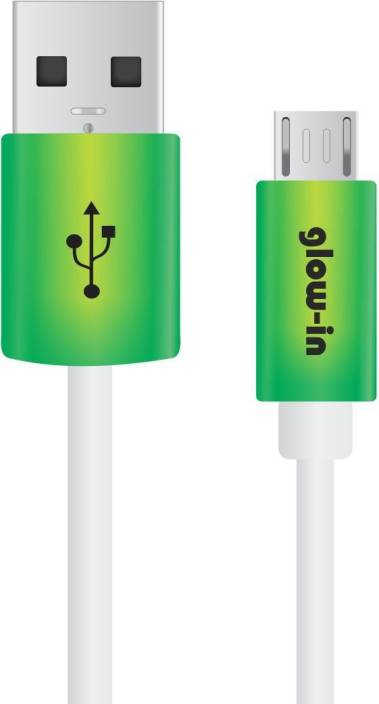Portronics POR444 Glow in USB Cable