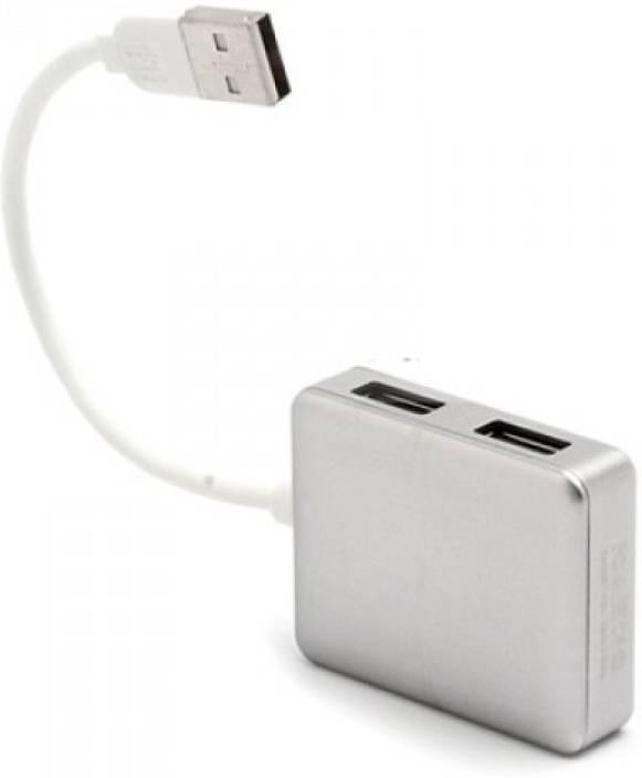 40c7aa57925 eGizmos Siyoteam Hi-Speed USB 2.0 Hub 4 Ports Macbook Style eG-SIYO4PORT USB  Hub (Silver)