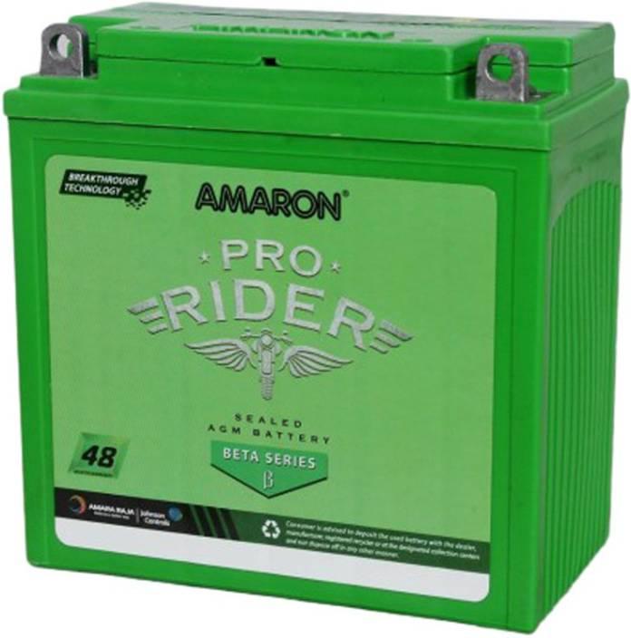 Amaron AMARON AP BTX9R 9 Ah Battery For Bike 9 Ah Battery For Bike