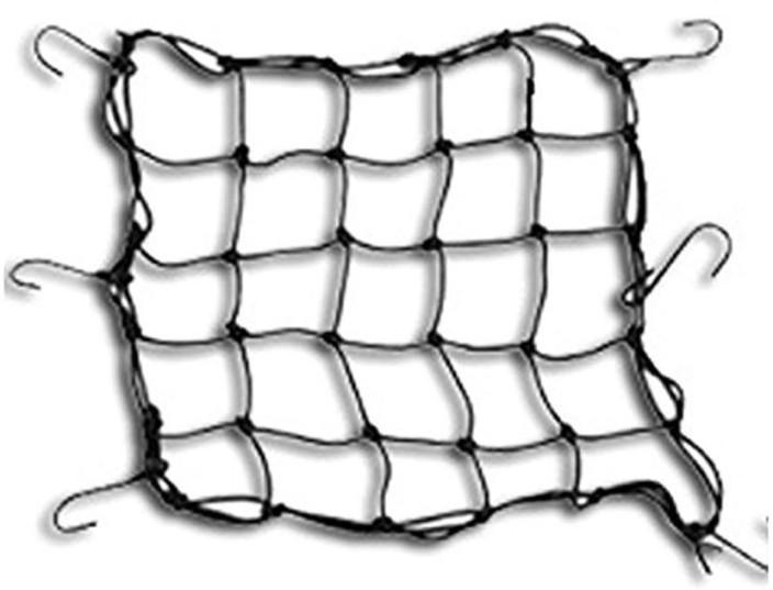 Enfieldworks Aa Automobile Bungee Cargo Net For Bike Black