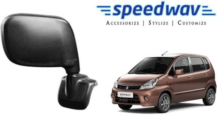 Speedwav Manual Rear View Mirror For Maruti Suzuki Zen Estilo Price