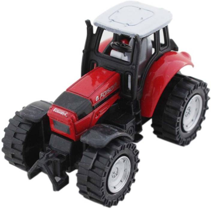 Tootpado Model Toy Farm Tractor Diecast With Pull Back